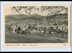 N1335-985./ Zella Mehlis Panorama Mehlis mit Ruppberg Foto AK ca. 1961