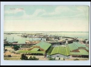 N1070/ Odessa Hafen Ukraine AK ca.1912