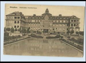 N1272-083./ Glauchau Städtisches Krankenhaus AK 1926