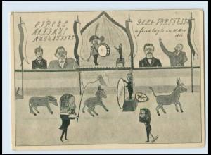 Y768/ Zirkus Maximus Augustianus in Friedberg Hessen 1906 AK