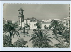 N1328/ Algeciras/Cádiz in Spanien Spain España Plaza del Generalísimo AK ca.1960