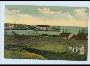N2452/ Sonderburg Sønderborg Dänemark Danmark Denmark Hafeneinfahrt AK ca. 1910