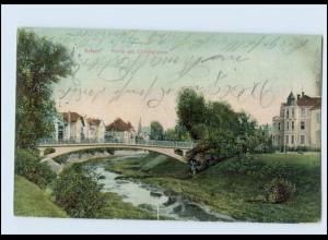 N2183-990./ Erfurt Partie am Unflutgraben AK 1909