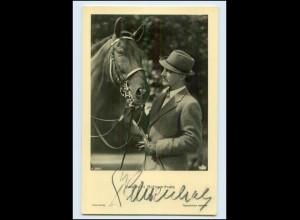 N2920/ Albrecht Schoenhals Original Autogramm Ross Foto AK Schauspieler