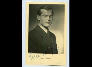 N2925/ René Deltgen Original Autogramm Ross Foto AK 1940 Schauspieler