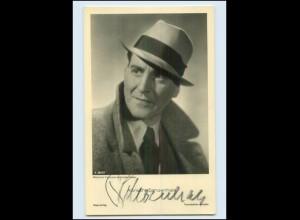 N2954/ Albrecht Schoenhals Original Autogramm Ross Foto AK Schauspieler