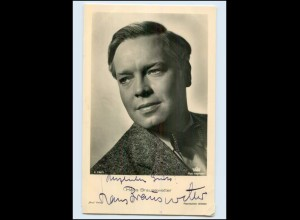 N2957/ Hans Brausewetter Original Autogramm Ross Foto AK Schauspieler