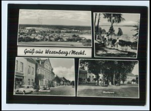 N3208-172./ Wesenberg Meckl. AK 1965