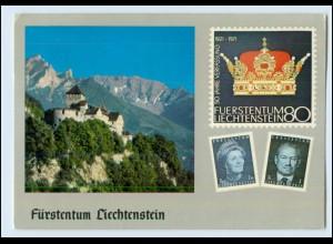 N3172/ Fürstentum Liechtenstein Briefmarken AK 1978