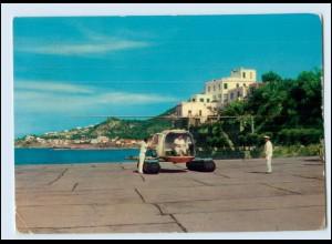 N3114/ Lacco Ameno Italien Eliporto Hubschrauber AK 1965