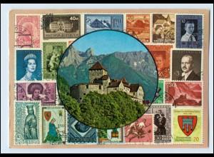 N3055/ Fürstentum Liechtenstein Briefmarken AK 1973
