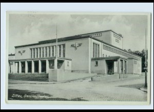 N3333-027./ Zittau Grenzlandtheater AK 1940