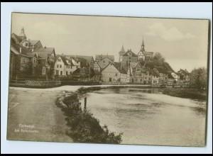 N3644-3440/ Eschwege Am Pommerntor Foto AK ca.1925