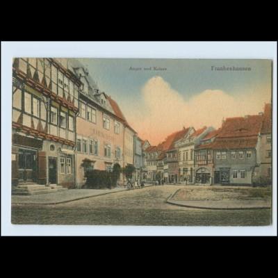 N3635/ Frankenhausen Thüringen Anger und Kräme AK 1919