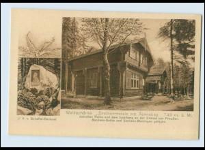 N3636/ Waldschänke Dreiherrnstein am Rennsteig AK 1929