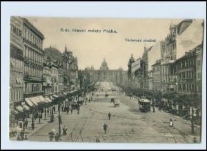 Y1171/ Prag Praha AK Straßenbahn ca.1905