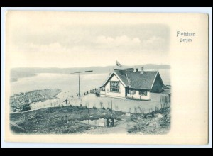N3895/ Norwegen Floistuen Bergen AK