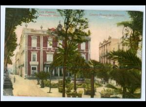 N3838/ Las Palmas Spanien España Spain Casino Plaza de Cairasco AK ca.1910