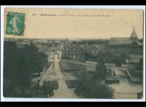 N3839/ Bellegarde (Loiret) Frankreich France Zwinger Donjon AK ca.1910