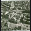 C1669/ Hamburg Gerichtsgebäude, Gorch-Fock-Wall Luftaufnahme 1963 21 x 21 cm