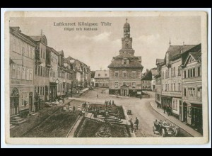 N3967-074./ Königsee Hügel mit Rathaus 1931 AK
