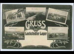 N4767/ Lockstedter Lager Truppenübungsplatz AK 1915