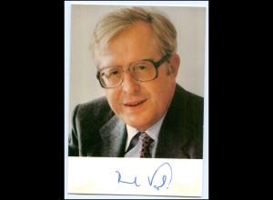 N4744/ Bernhard Vogel Original Autogramm Politik