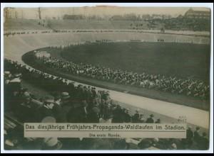 Y1902/ Frühjahrs-Propaganda-Waldlaufen im Stadion Foto ca.1935 17 x 12 cm