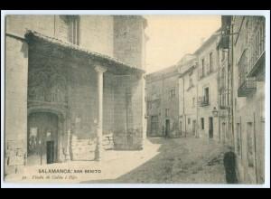N4971/ Salamanca: San Benito Spanien AK ca.1912