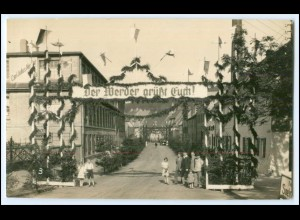 N5080-047./ Rosswein Carl Julius Nesler AG Strickwarenfabrik Foto AK ca.1935