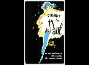 Y2384/ Bruxelles Brüssel Kabaret Chez Paul aus Gaity AK Belgien