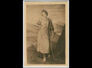 Y1581/ Schwind: Hirtin , Dt. Kolonial-Krieger Spende AK 1921