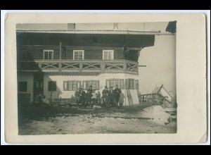 Y1652/ Rosenheim ? Privat Foto AK 1919