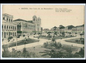 N5506/ Sao Luiz (E. de Maranhao) Brasilien Brazil AK ca.1912