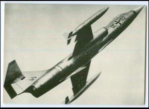 DP140/ Deutsche Bundeswehr AK F 104 G Super Starfighter ca.1970 Luftwaffe