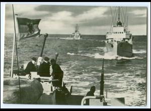 DP139/ Deutsche Bundeswehr AK Schulboote Flottenmanöver Marine ca.1970