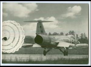 DP134/ Deutsche Bundeswehr AK F 104 G Düsenjäger Flugzeug ca.1970