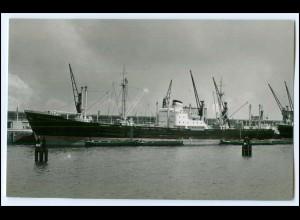 DP128/ Frachter Handelsschiff Braunschweig Foto AK ca.1955