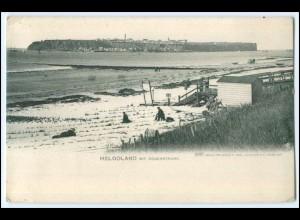 N5819/ Helgoland im Dünenstrand ca.1900 AK