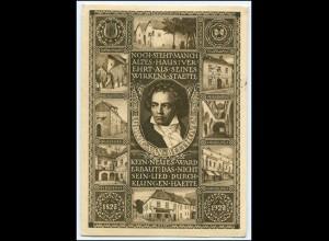 Y1965/ Beethoven Österreichs Beethovenfeier Ganzsache Ak 1927
