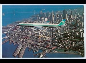 Y3654/ Flugzeug Trans International Super DC-8 / DC-10 USA AK
