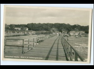 N7314-181./ Graal-Müritz Ostseebad Müritz Seebrücke Foto Ak ca.1935