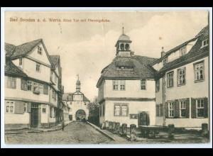 N7159-3437/ Bad Sooden Altes Tor mit Pfennigstube 1924 AK
