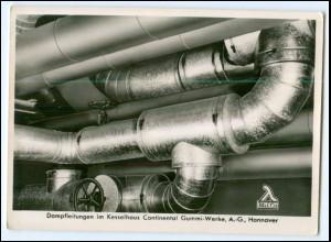 Y2256/ Hannover Reinhold & Co.Kesselhaus Continental Gummi-Werke Foto AK ca.1955