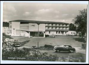N7335-3500/ Kassel Schloß Hotel Wilhelmshöhe Autos AK ca.1950-55