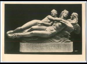 N7578/ Skulptur von Prof. Josef Müller Wiener Künstlerhaus Foto AK ca.1935