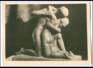 N7577/ Skulptur von Edmunt Moiret Wiener Künstlerhaus Foto AK ca.1935