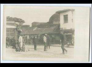 N7882/ Balkan Serbien Straßenleben Foto AK ca.1915