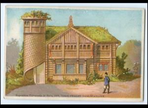 N7869/ Paris Exposition Universelle 1878 Weltausstellung Kaufmannsbild Schweden