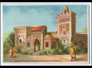 N7868/ Paris Exposition Universelle 1878 Weltausstellung Kaufmannsbild Algerien